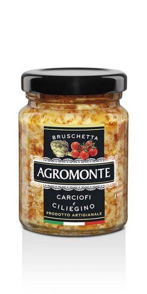 Agromonte Bruschetta Carciofi E Ciliegino 100g