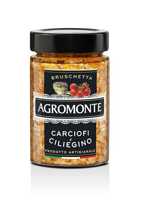 Agromonte Bruschetta Carciofi E Ciliegino 200g