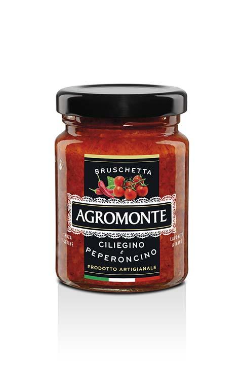 Agromonte Bruschetta Ciliegino E Peperonicno 100g