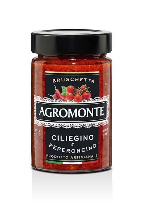 Agromonte Bruschetta Ciliegino E Peperonicno 200g