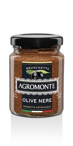Agromonte Bruschetta Olive Nere 100g