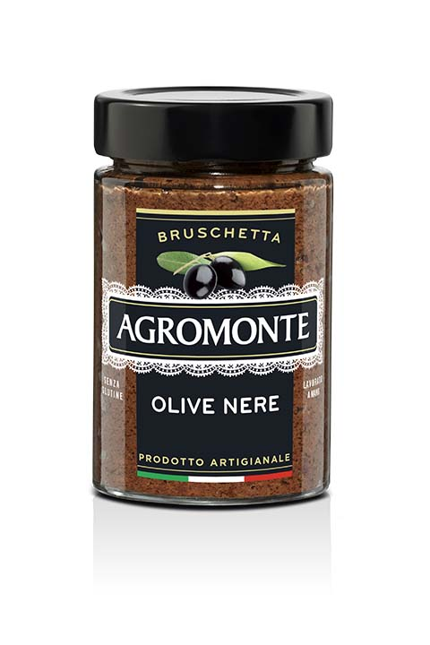 Agromonte Bruschetta Olive Nere 200g