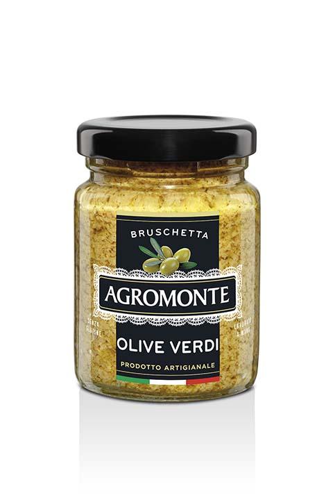 Agromonte Bruschetta Olive Verdi 100g