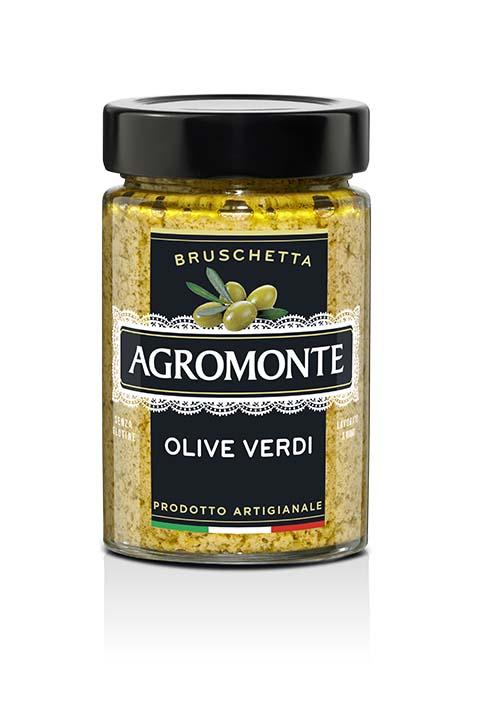 Agromonte Bruschetta Olive Verdi 200g