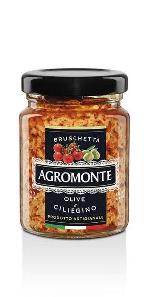 Agromonte Bruschetta Olive E Ciliegino 100g