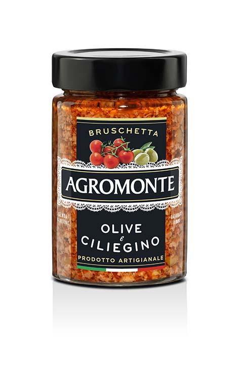 Agromonte Bruschetta Olive E Ciliegino 200g