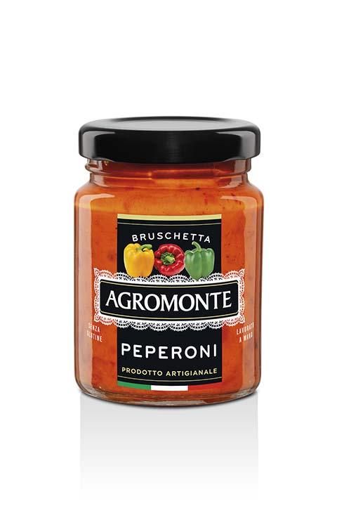 Agromonte Bruschetta Peperoni 100g