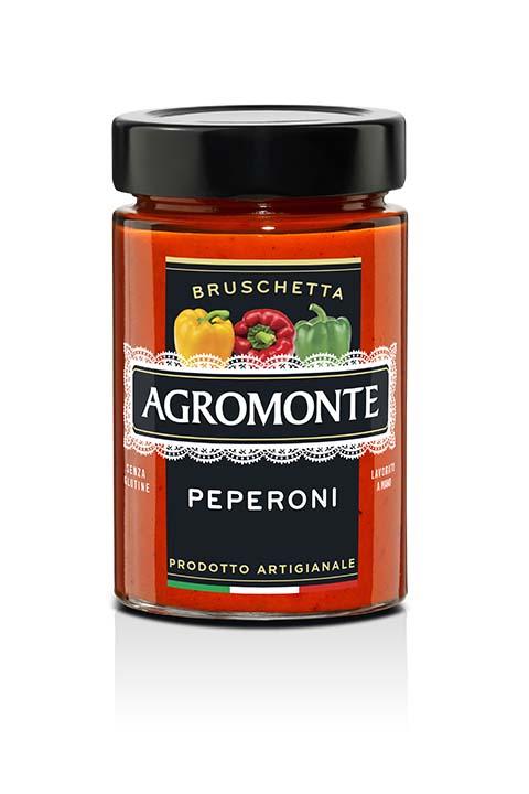 Agromonte Bruschetta Peperoni 200g