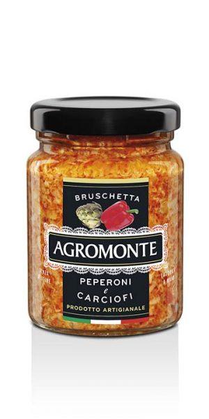 Agromonte Bruschetta Peperoni E Carciofi 100g