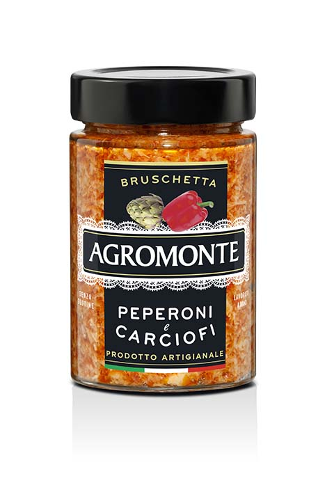 Agromonte Bruschetta Peperoni E Carciofi 200g