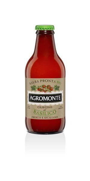 Agromonte Salsa Bio Basilico 250g