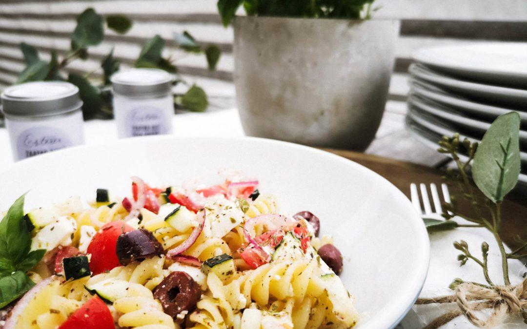 Griechischer Salat mit Zaatar aus dem Orient