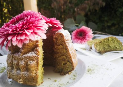 Kürbiskernkuchen